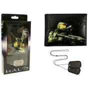Halo Wallet and Dogtag Boxed Combo
