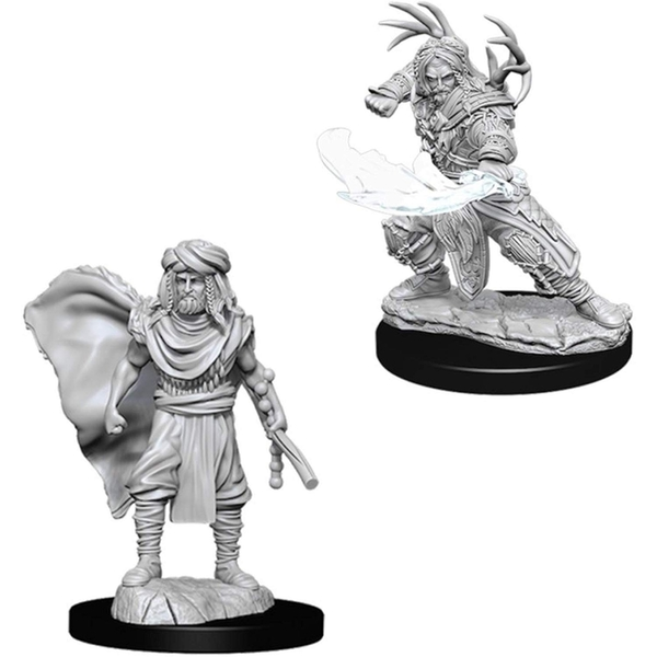 Dungeons & Dragons Nolzur's Marvelous Unpainted Miniatures Male Human Druid