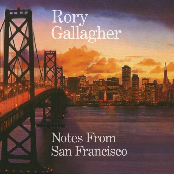 Rory Gallagher - Notes From San Francisco Vinyl