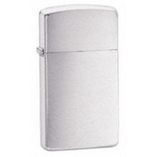 Zippo Slim Brushed Chrome Windproof Lighter