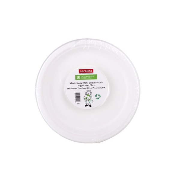 Castleview Extra Strong Plates 10 Pack 9inch/23cm