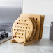 Set of 4 Bamboo Trivets with Storage Rack   M&W - Image 2