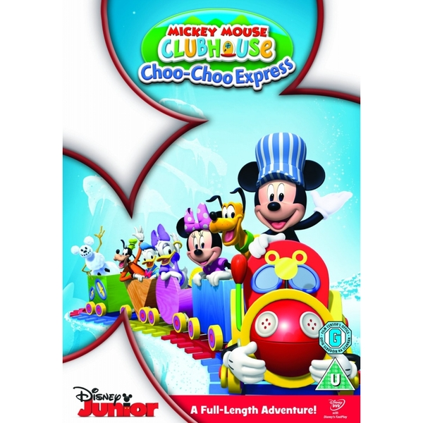 Mickey Mouse Club House Mickey's Choo Choo DVD