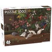 Flowers and Birds 1000 Piece Jigsaw Puzzle