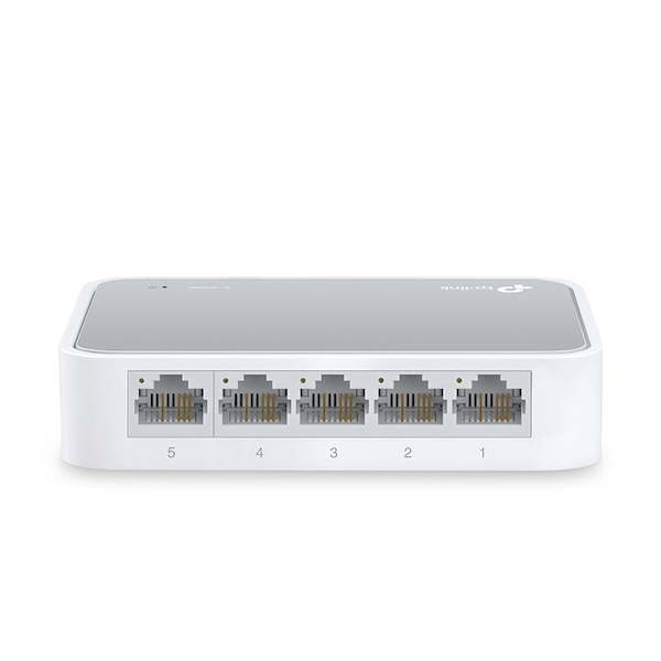 TP-Link TL-SF1005D 5-Port 10/100 Mbps Desktop Ethernet Switch UK Plug