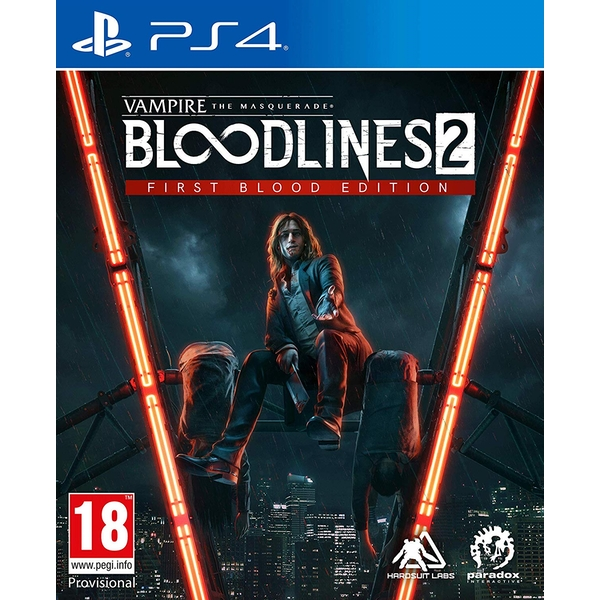 Vampire The Masquerade Bloodlines 2 PS4 Game - Image 1