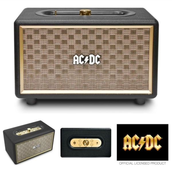 AC/DC Vintage Portable Bluetooth Speaker
