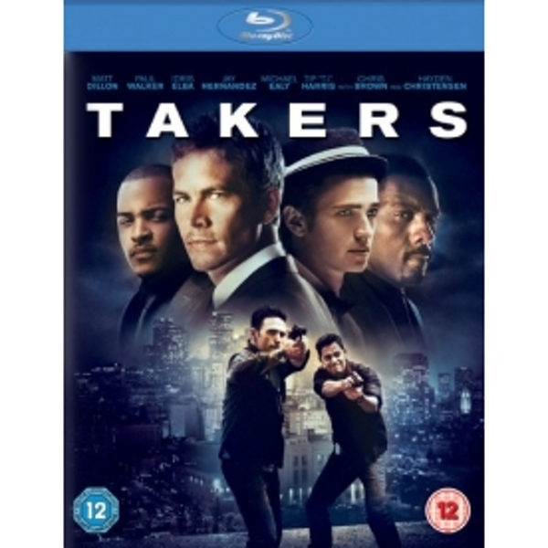 Takers Blu-ray