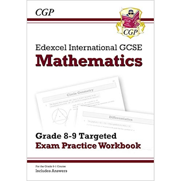 New Edexcel International GCSE Maths Grade 8-9 Targeted Exam Practice Workbook (includes Answers)  Paperback / softback 2018