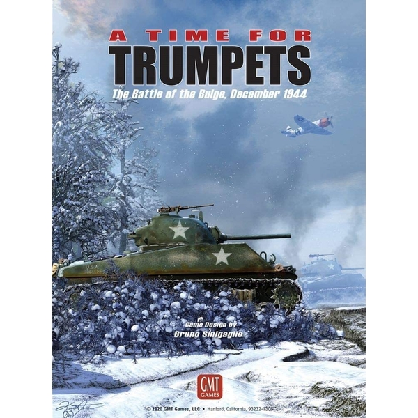A Time For Trumpets - The Battle Of The Bulge December 1944 Board Game