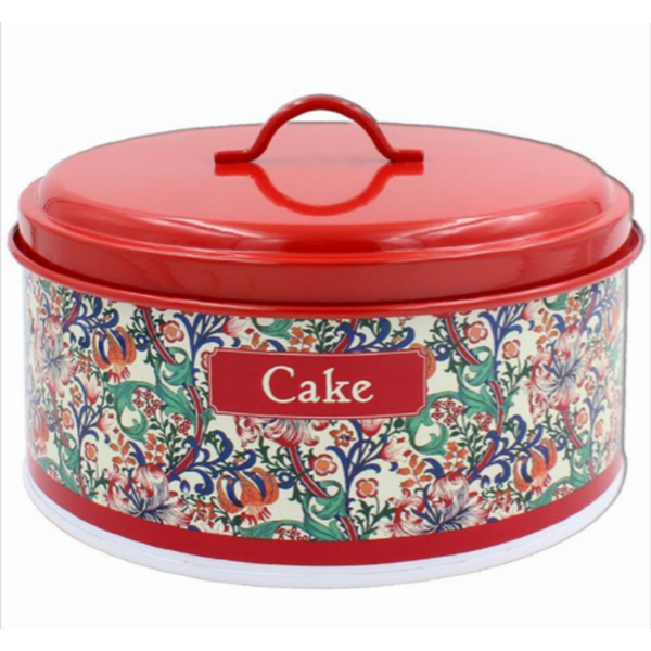 Golden Lily Cake Tin By Lesser & Pavey