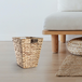 Natural Banana Leaf Waste Paper Basket | M&W - Image 4