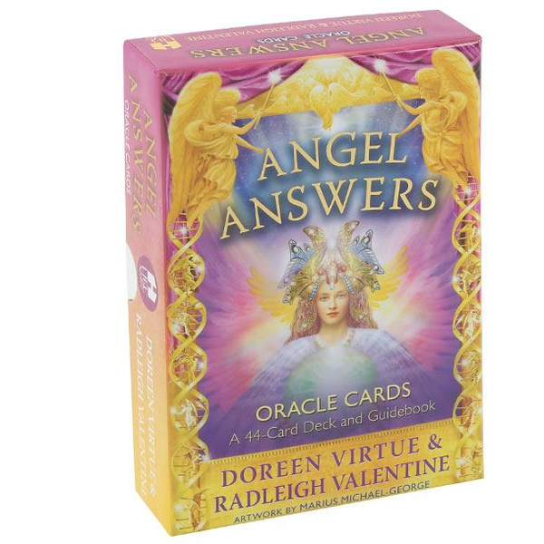 Angel Answers Oracle Cards: A 44-Card Deck and Guidebook