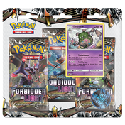 Pokemon TCG: Sun & Moon Forbidden Light 3 Pack Blister