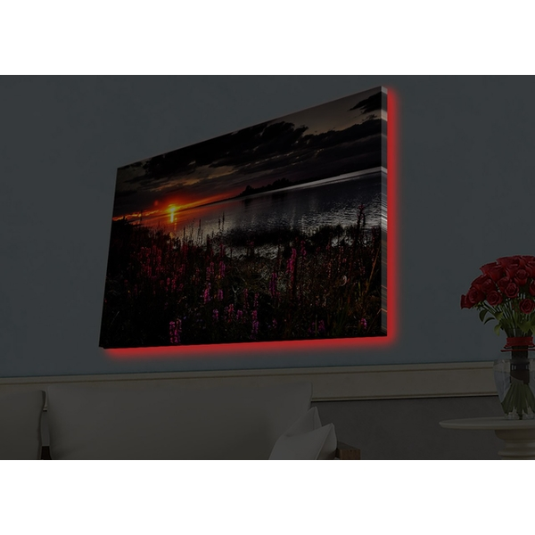 4570HDACT-002 Multicolor Decorative Led Lighted Canvas Painting