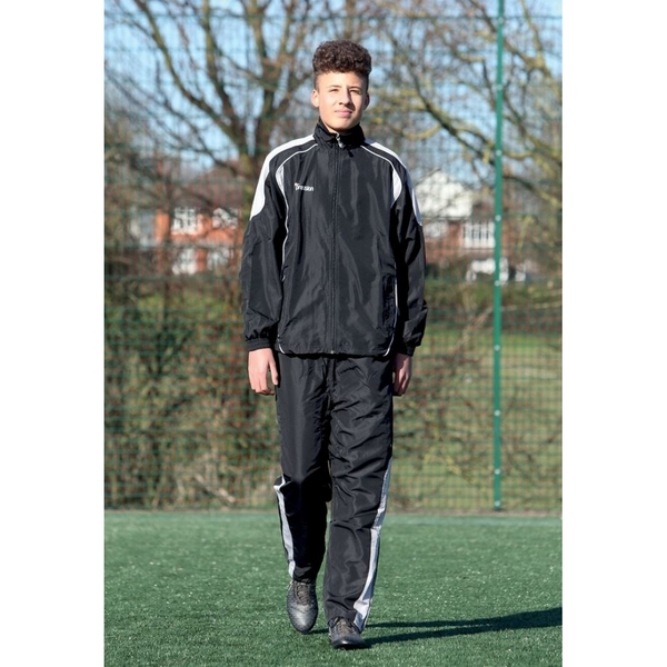Precision Ultimate Tracksuit Trousers Black/Silver/White 30-32