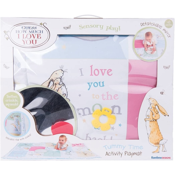 How Much I Love You Activity Playmat