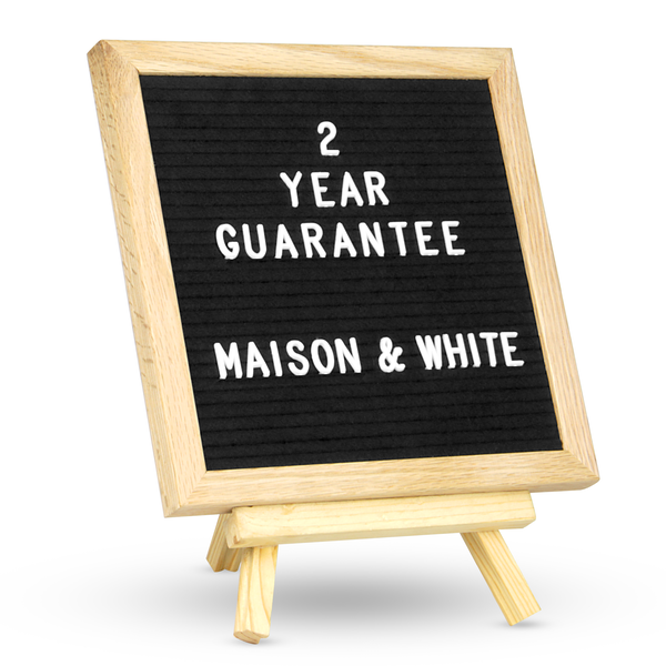 Felt Letter Board Message Sign | M&W 10x10in New
