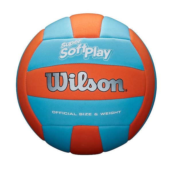 Wilson Super Soft Play Volleyball Orange/Blue