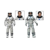(Damaged Packaging) Neca Interstellar Clothed 8 Inch Action Figures 2 Pack Used - Like New