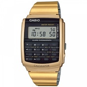 Casio Retro Calculator Watch Gold