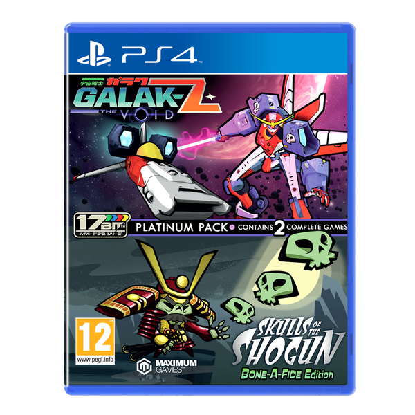 Galak-Z The Void & Skulls of the Shogun Bone a Fide Edition Platinum Pack PS4 Game