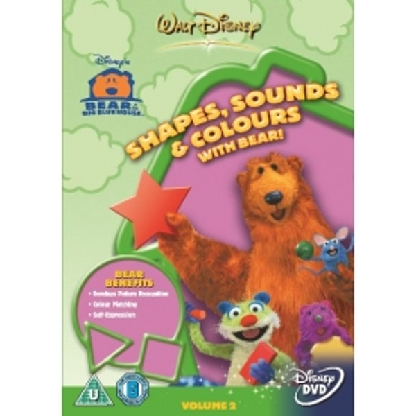 Bear In The Big Blue House Shapes, Sounds And Colours DVD