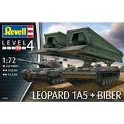 Leopard 1A5 + Biber 1:72 Revell Model Kit