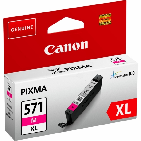 Canon 0333C001 (571 MXL) Ink cartridge magenta, 650 pages, 11ml
