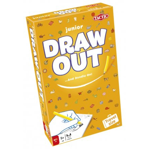 Travel Draw Out Junior Board Game