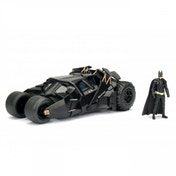 Batmobile (Dark Knight) Jada Diecast Model With Batman