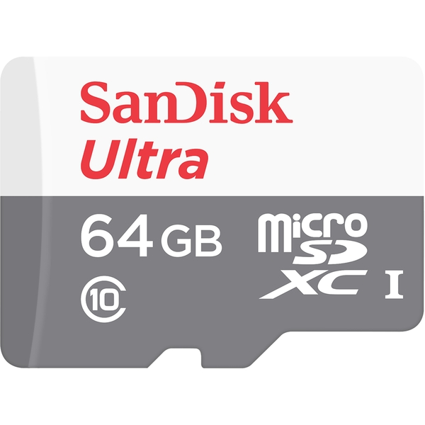 Sandisk Ultra MicroSDXC 64GB UHS-I   SD Adapter memory card Class 10