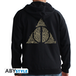 Harry Potter - Deathly Hallows Men's Large Hoodie - Black - Image 2