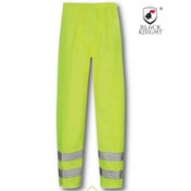 Black Knight X-Large Hawk High Visibility Trousers - Yellow