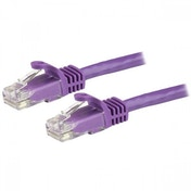StarTech N6PATC1MPL 1m Cat6 U/UTP (UTP) Purple networking cable
