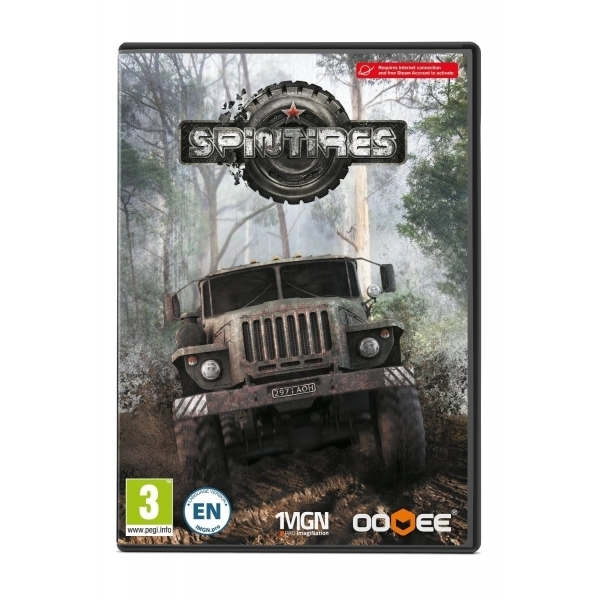 Spintires PC Game (Boxed and Digital Code)