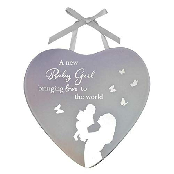 Reflections Of The Heart Christening Plaque