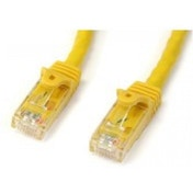 StarTech Cat6 Patch Cable with Snagless RJ45 Connectors 10 m Yellow