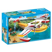 Playmobil Wildlife Firefighting Seaplane with Water Tank