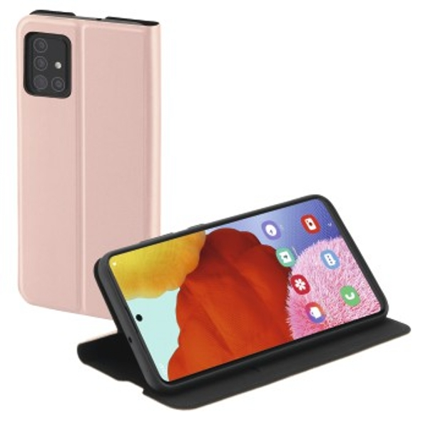 """Hama """"Single2.0 Booklet for Samsung Galaxy A51, pink"""