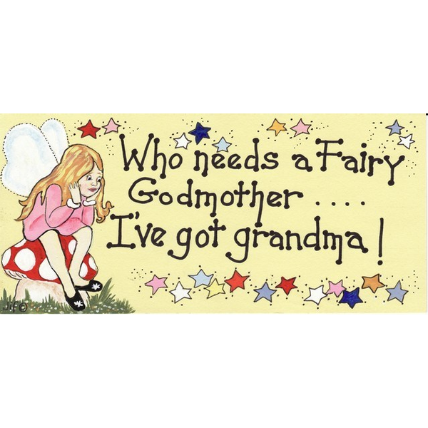 Who Needs A Fairy Godmother Pack Of 12