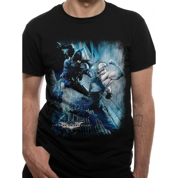 Dark Knight - Battle Men's Medium T-Shirt - Black