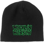 Marilyn Manson - Logo Men's Beanie Hat - Black