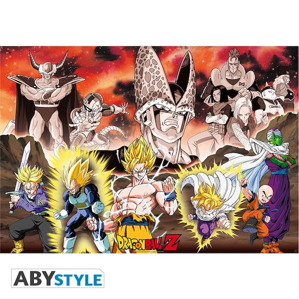 Dragon Ball - Dbz/ Group Cell Arc Maxi Poster - Image 1