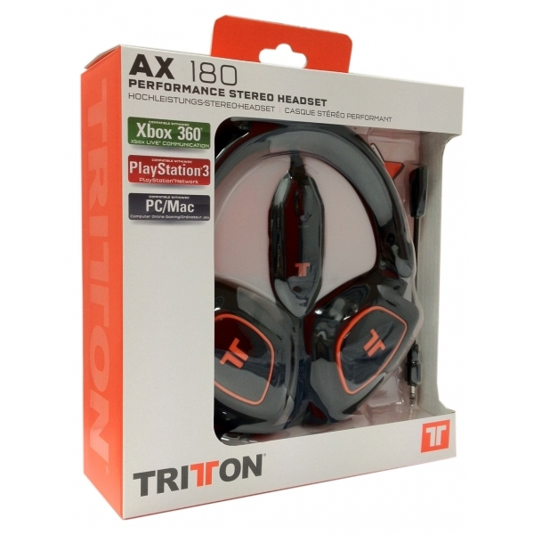 Tritton AX 180 Universal Gaming Headset (Black) 360/PS3/Wii/PC/PS4 - Image 3