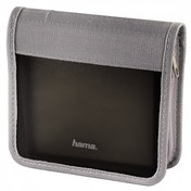 CD/DVD/Blu-ray Wallet 28 Graphite/Silver
