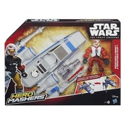Star Wars Hero Mashers Star Wars: The Force Awakens Resistance X-Wing and Resistance Pilot
