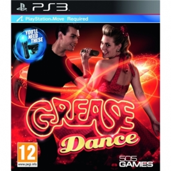 Playstation Move Grease Dance Game PS3