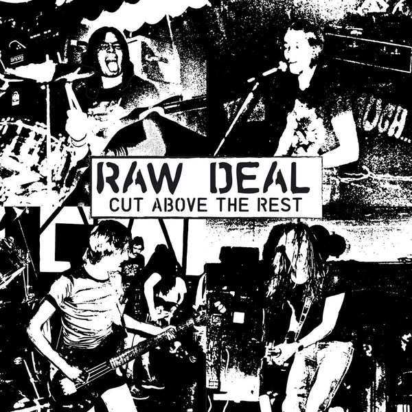 Raw Deal - Cut Above the Rest Clear Vinyl