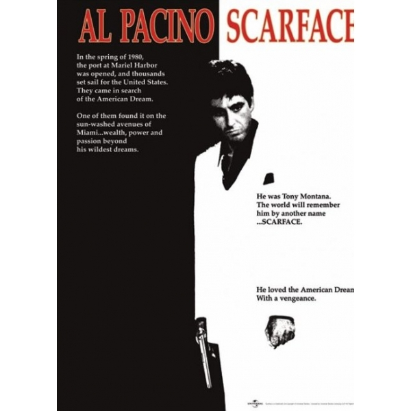 Scarface - Onesheet Mini Poster